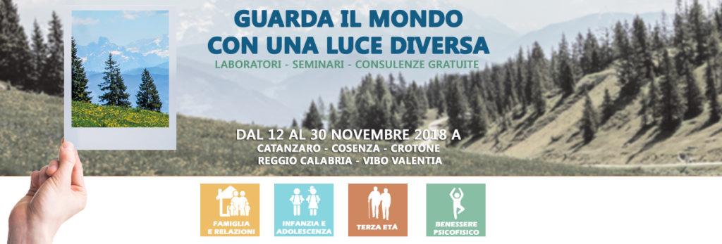 Guarda Il Mondo Con Una Luce Diversa Mese Del Benessere Psicologico Dal 12 Al 30 Novembre 2018 Ordine Psicologi Calabria
