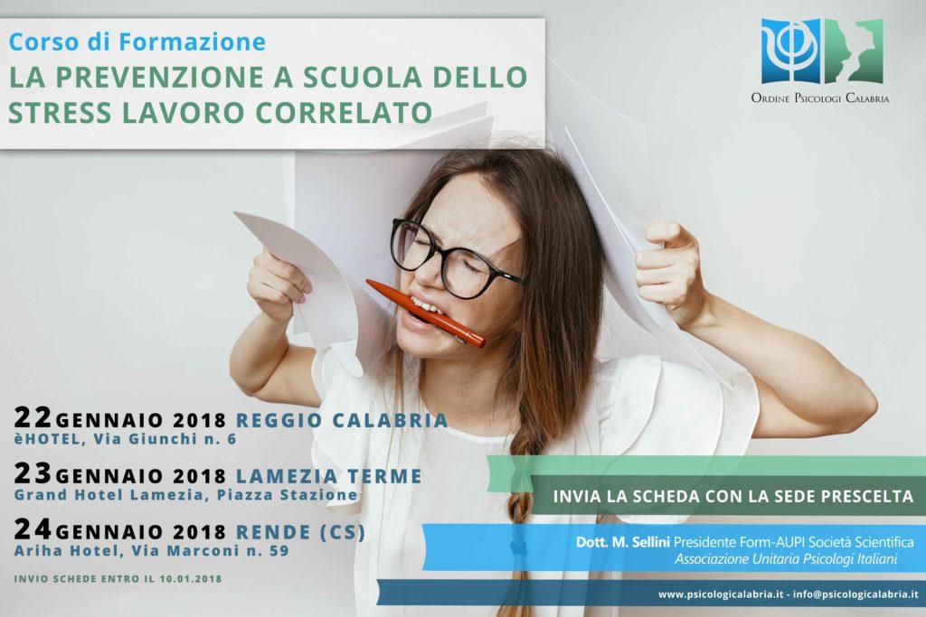 Psicologia Stress Lavoro Correlato Calabria