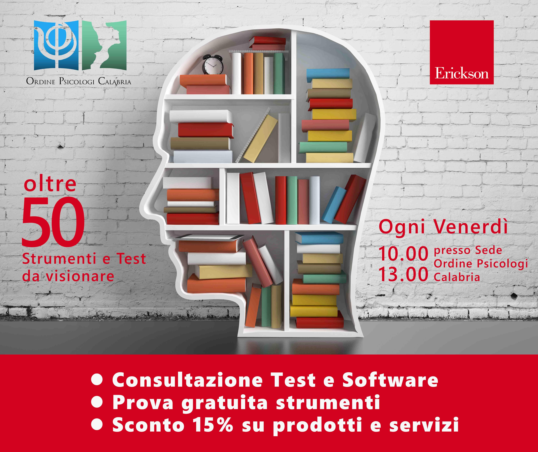 Servizio Consultazione Test Erickson Ordine Psicologi Calabria